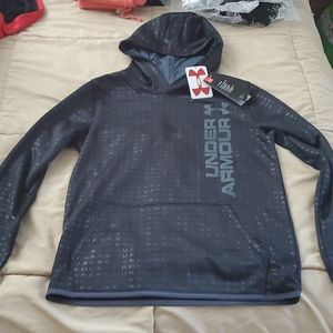 New boys youth large Under Armour hoodie